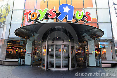 Toys R Us Editorial Stock Photo