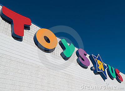 Toys R Us Editorial Image
