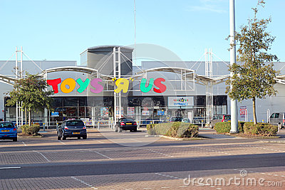 Toys R Us store. Editorial Stock Photo