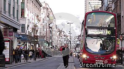 Tráfego de Londres vídeos de arquivo
