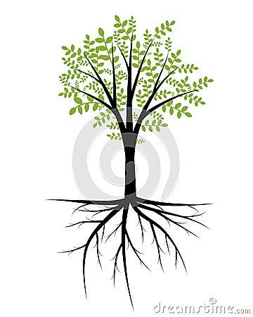 Trädillustration