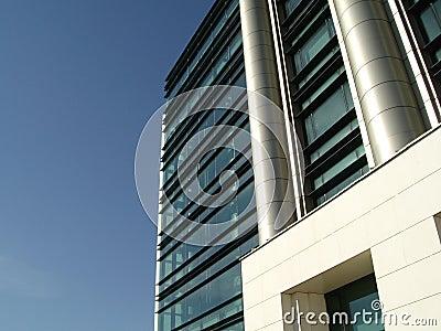 Modern byggnad