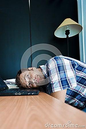Träumen im Büro