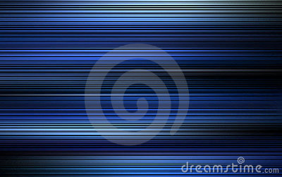 Traînée bleue