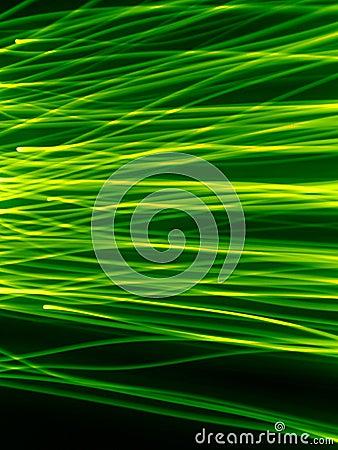 Traînées vertes