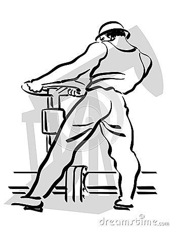 Trabajador del petróleo