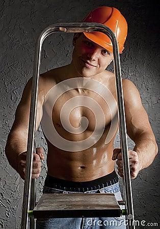 Trabajador muscular