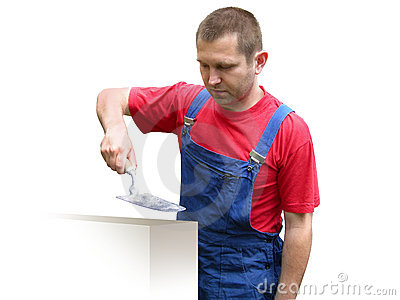 Trabalhador da construção - construtor.