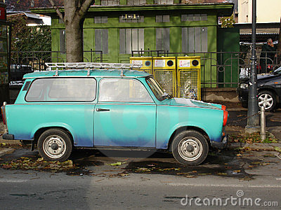 Trabant - East German car