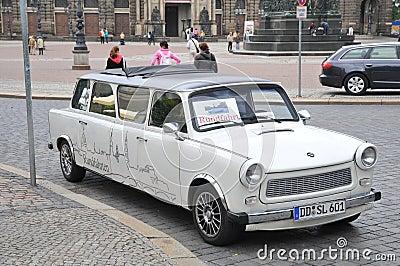 Trabant - East German nostalgia Editorial Stock Image