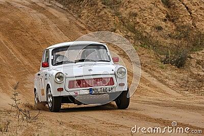 Trabant Rallye Car Editorial Stock Image