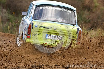 Trabant Rallye Car Editorial Stock Image