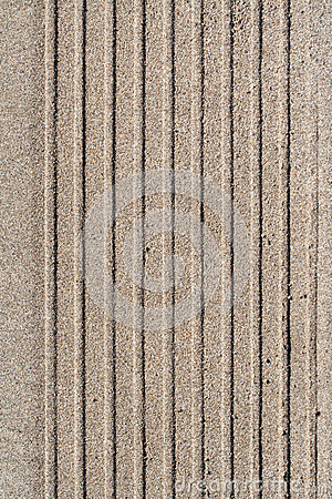 Trace in the sand - textura