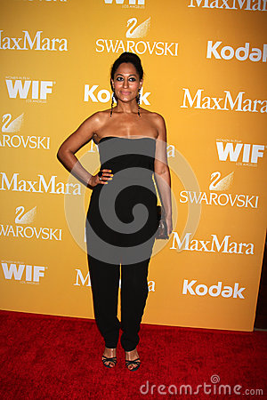 Tracee Ellis Ross arrives at the City of Hope s Music And Entertainment Industry Group Honors Bob Pittman Event Editorial Image