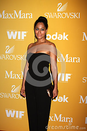 Tracee Ellis Ross arrives at the City of Hope s Music And Entertainment Industry Group Honors Bob Pittman Event Editorial Photo