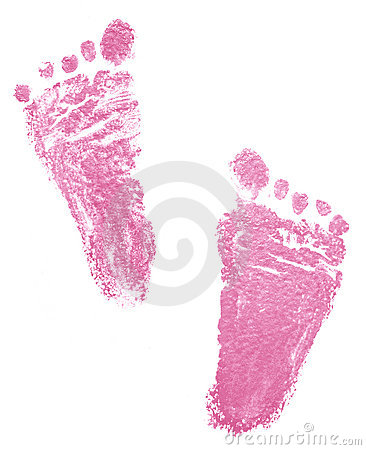 Traces of newborn