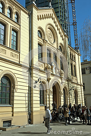 Free Traces Of Jewish Warsaw - Synagogue Stock Photos - 32650333