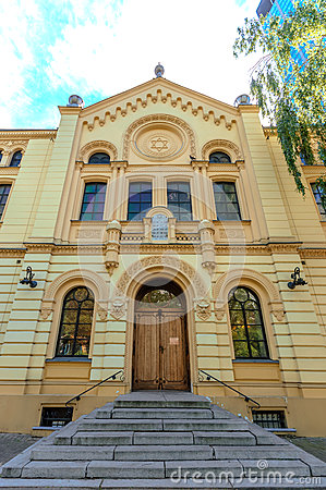 Free Traces Of Jewish Warsaw - Synagogue Stock Photography - 89181182