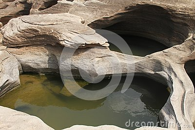 Traces Of A Stone Royalty Free Stock Photography - Image: 24766377
