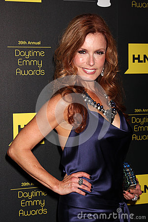 Tracey E Bregman arrives at the 2012 Daytime Emmy Awards Editorial Photo