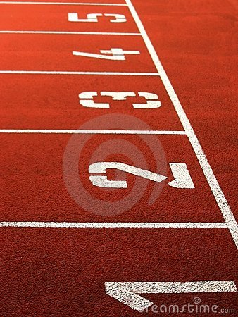 Free Track & Field Royalty Free Stock Photos - 4183898