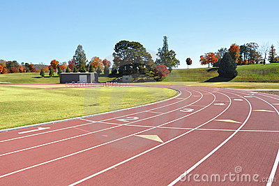 Track and field course