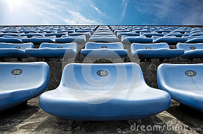 Track field rubber seats