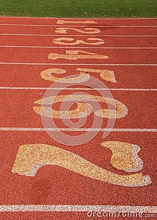 Track and Field Startline