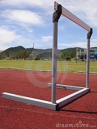 Track and Field Track hurdle , Puerto Rico, Carribean