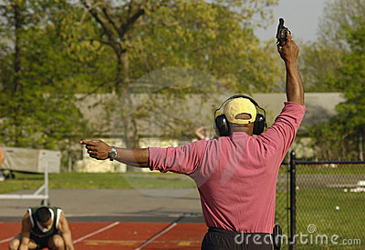 Track Meet Starting Gun