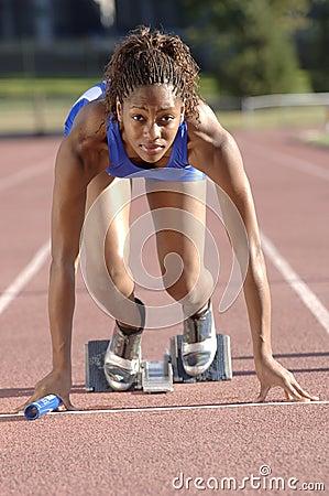Free Track Runner Stock Photos - 6834713