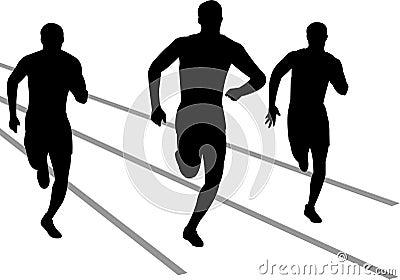 Track Runners/eps