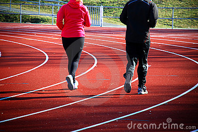 Track running - endurance