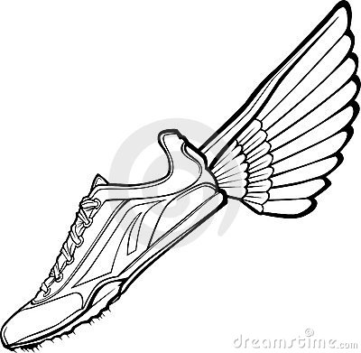 Track Shoe and Wing Vector