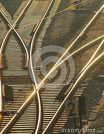 Track Switch in Berlin