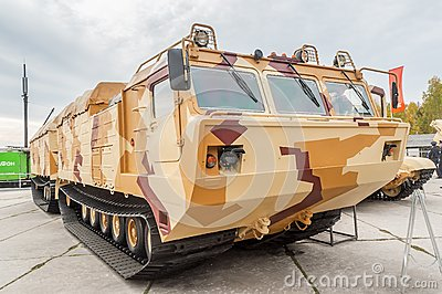 Tracked carrier DT-30P1. Russia Editorial Photography