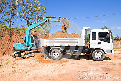 Tracked Excavator Royalty Free Stock Image - Image: 28715076