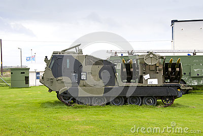 Tracked Missile Launching Vehicle
