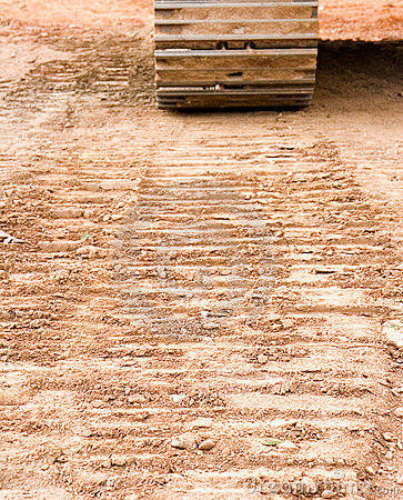 Free Tracks In Dirt Royalty Free Stock Image - 3650716