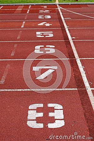 Tracks numbers