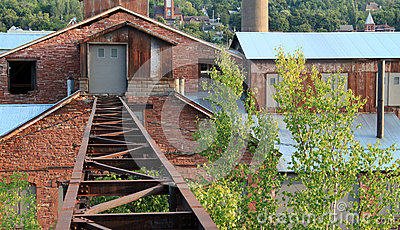 Tracks to the smelter