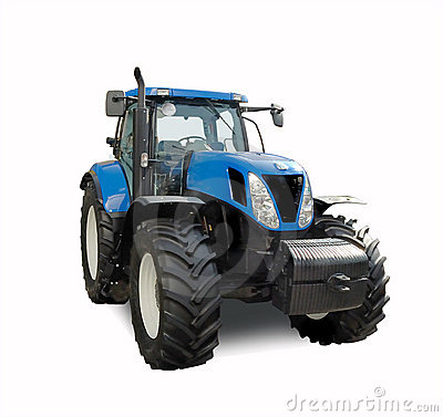 Free Tractor Royalty Free Stock Image - 13760596