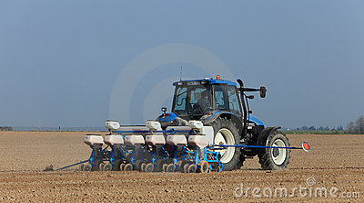 Tractor Editorial Photo