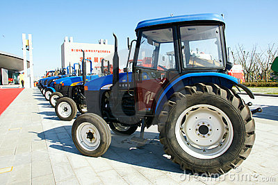 Tractor Editorial Photo