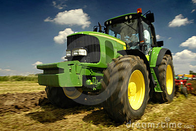 The Tractor Editorial Stock Photo