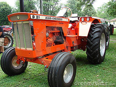 Tractor Allis Chalmers Editorial Stock Image