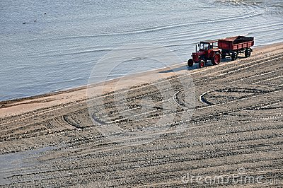 Tractor beach