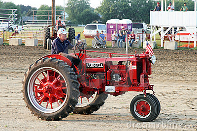 Tractor Farmall F-14 model 1938 Editorial Stock Image
