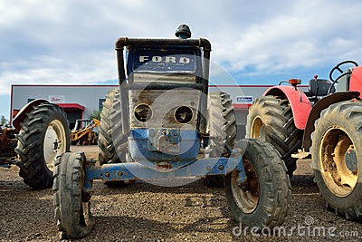Tractor Editorial Stock Photo