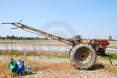 Tractor hand made in thailand.